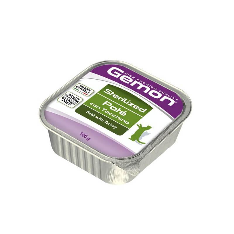 Gemon Sterilized kalkunilihaga konservid kassidele