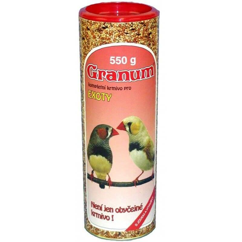 Granum toit eksootilistele lindudele