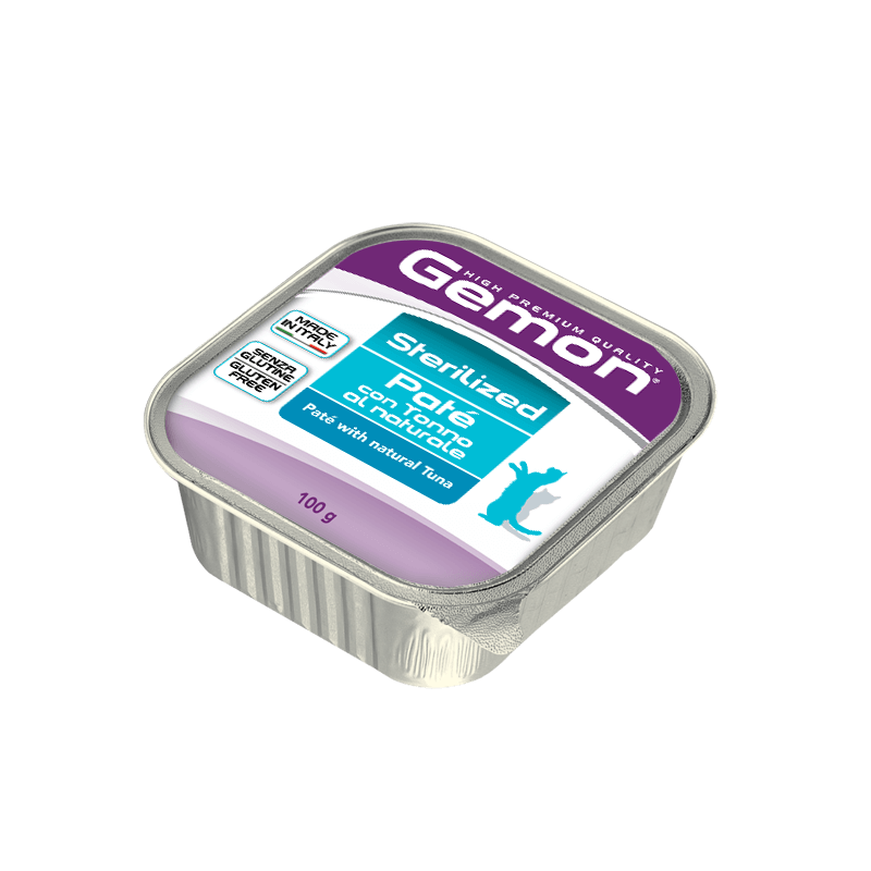 Gemon Sterilized konservid kassidele