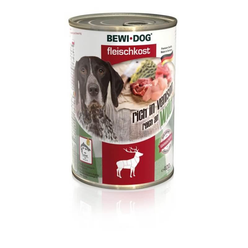 Bewi Dog Venison lambalihaga konservid koertele