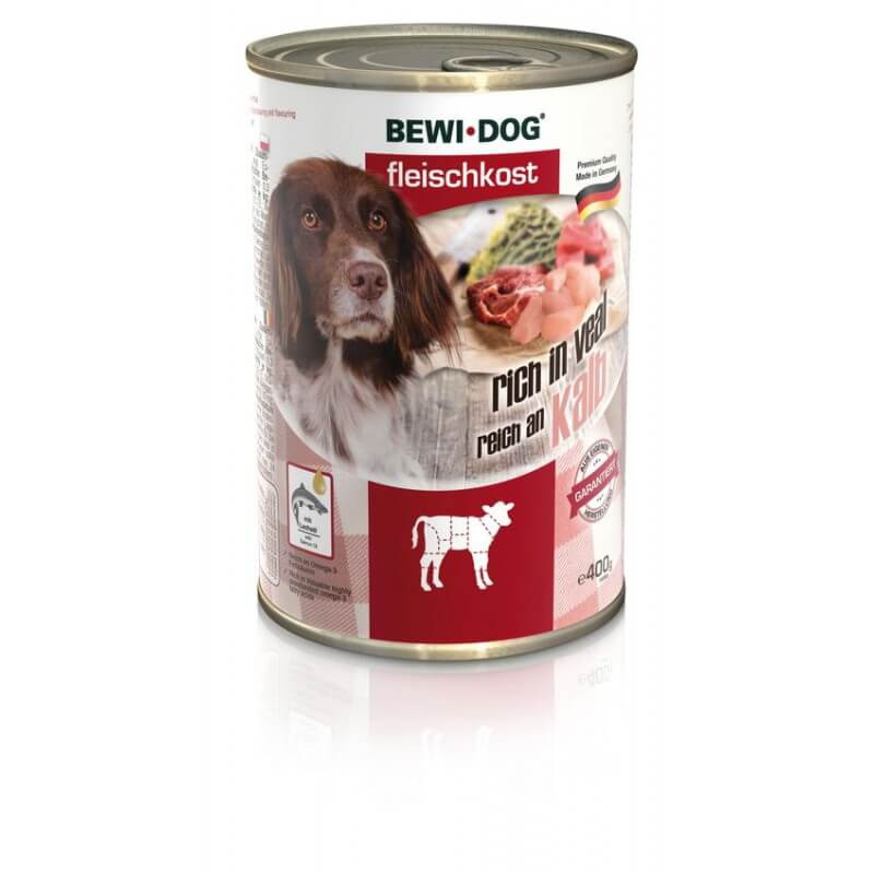 Bewi Dog Veal vasikalihaga konservid koertele
