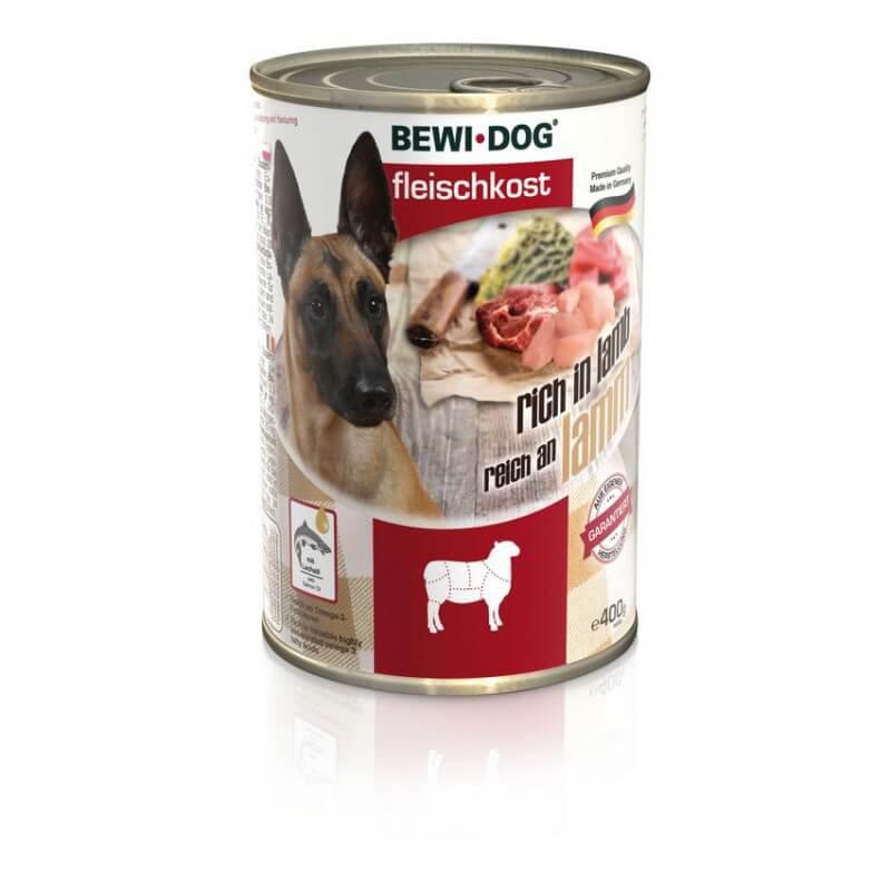 Bewi Dog Lamb lambalihaga konservid koertele
